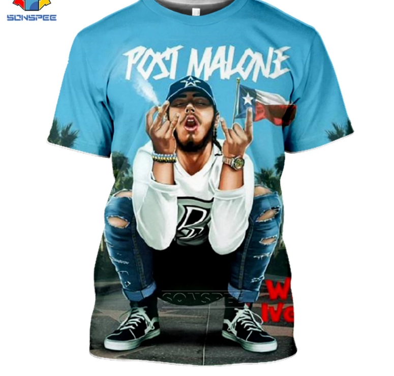 Post Malone Short Sleeves Tee