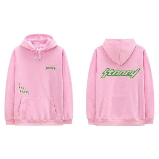 Men's sweatshirt with a hood, hip-hop lkkstyle-