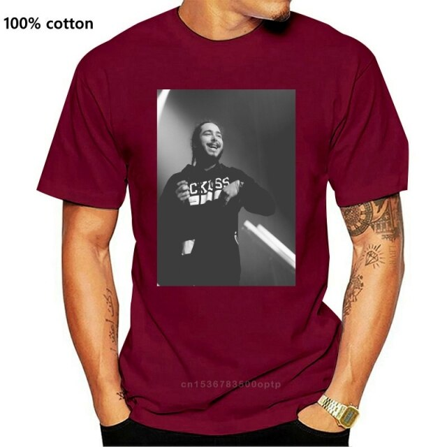 Post Malone Monochrome Concert Man T Shirt