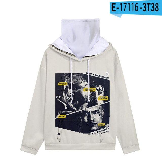 Post Malone 3D Print Sweatshirts