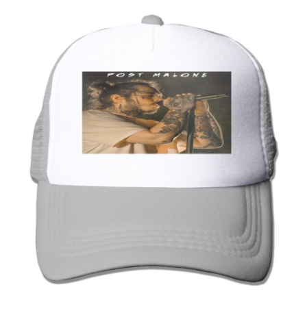 Post Malone Printed Graphic Hats