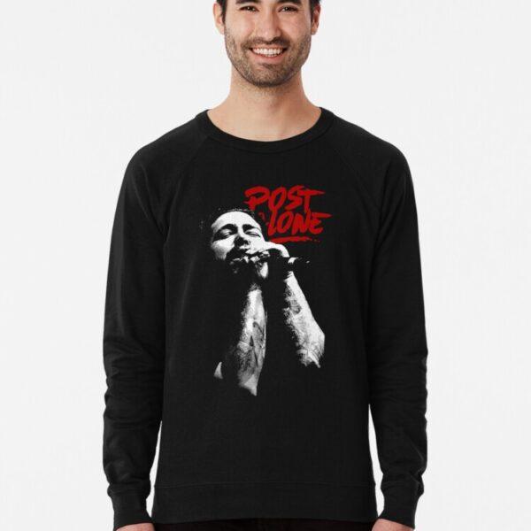 Post Malone Retro Lightweight Sweatshirt